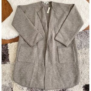 NWT Madewell Ivy Long Sweater Coat